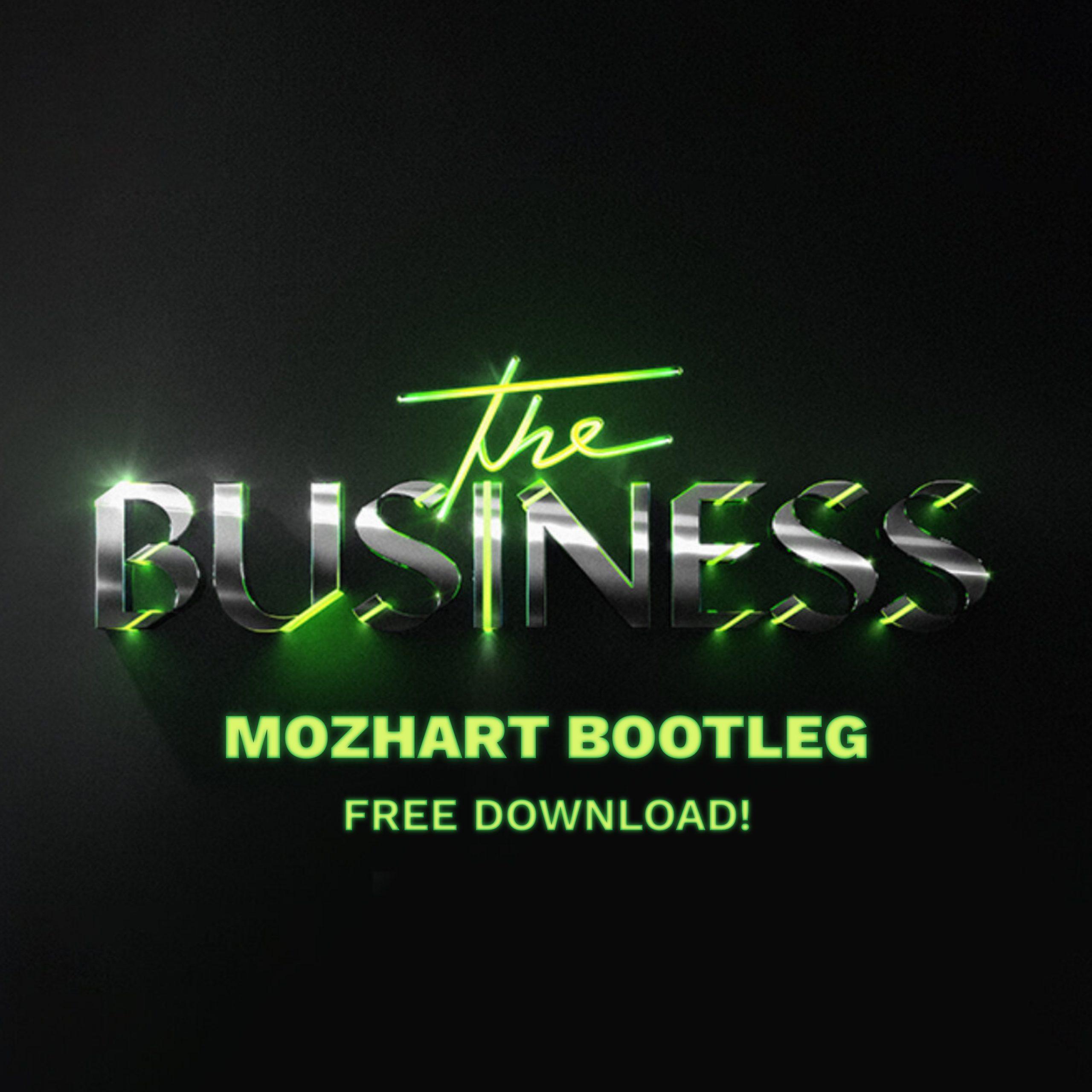 Tiesto – The Business (Mozhart Bootleg) Cover 1-1 v2